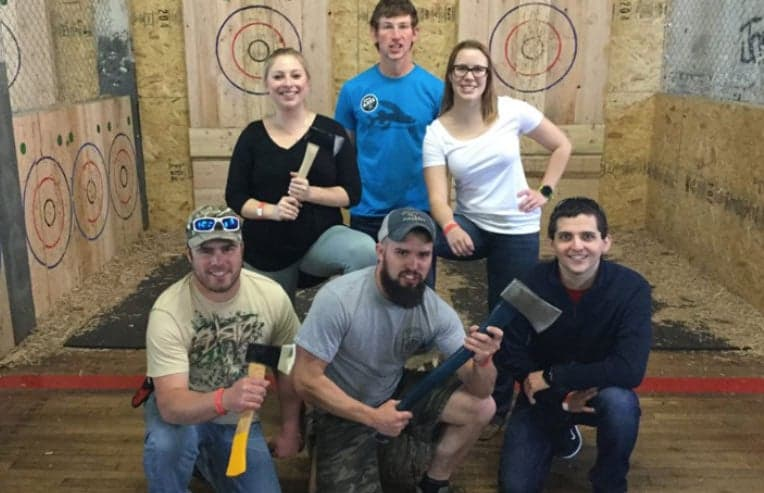 axe throwing group cleveland